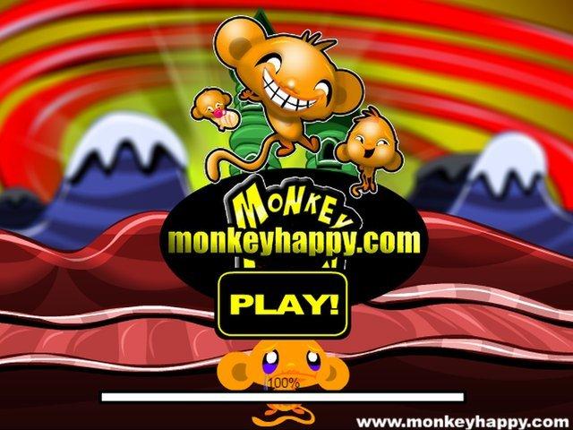 Веселые обезьянки играть онлайн