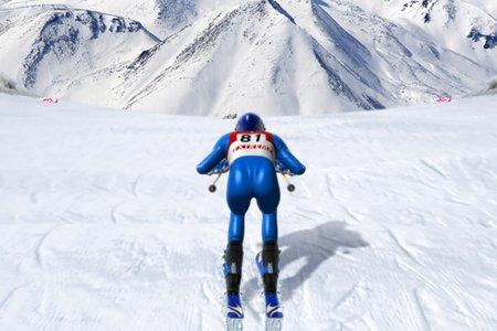онлайн лыжи играть
