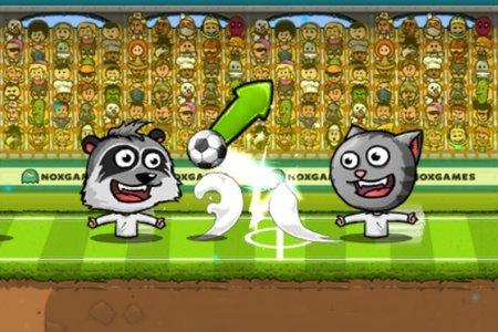 Игры Футбол Головами
