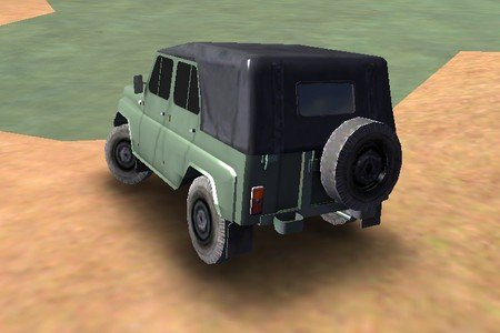 На УАЗе по бездорожью 3D